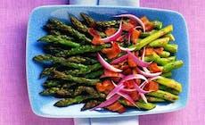 Asparagus With Sherry Bacon Vinaigrette Bd1