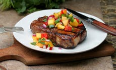 Balsamic Glazed Pork Chops300 1