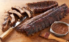 Coffee Rubbed Ribs With Coffee Barbecue Sauce Bd