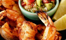 Grilled Shrimp With Mexican Salsa Bd