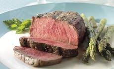 Lemon Parsley Filet Mignon Steaks With Asparagus Bd