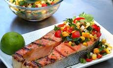 Maple Salmon Steak300