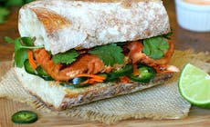 Salmon Banh Mi