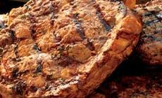 Garlic  Crusted  Rib  Eye  Steak 346X318