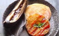 Gegrillte Ananas Und Banane Mit Pancake Food