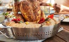Hähnchen Mit Mediterranem Brot