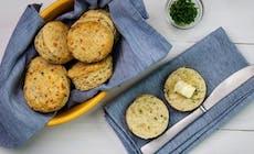 Herzhafte Muffins Mit Cheddar Und Schnittlauch
