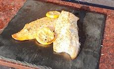 Filetto Di Salmerino Con Limone Grigliato