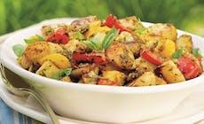 Kartoffelsalat Mit  Pistazienpesto 400X400