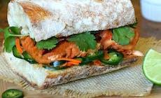 Lachs Banh Mi Sandwiches