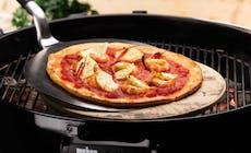 Pizza Equateur Aux Crevettes Ananas Et Tomates Barbecues Weber Bd