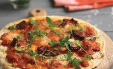 Pizza With Wild Rocket And Parma Ham 346X318