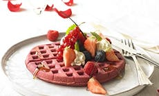 Red  Valentine Waffles With Love 400X400