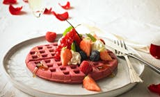 Red  Valentine Waffles With Love1 346X318