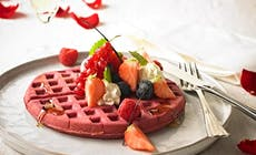 Red  Valentine Waffles With Love1 750X750