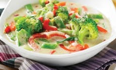 Vegetable  Thai  Green  Curry 346X318