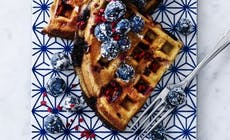 Waffle With Berries 346X318