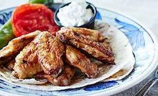 Baharat Li Tavuk Kanatlari