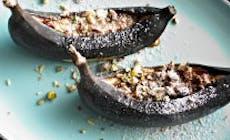 Banana Grelhada Com Snickers