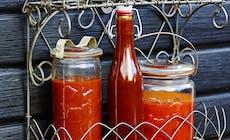 Bbq Saas Med Farska Tomater