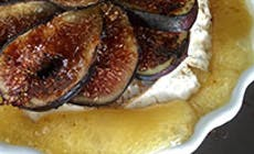 Camembert Con Higos