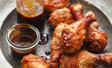 Chicken Wings With Barbeque Sauce 2