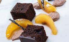 Chokoladekage Med Ganache Og Kvaeder