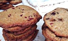 Cookies Med Lakrits Och Tranbar