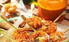 Crevettes Sauce Cacahuete