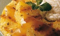 Gegrillte Ananas Mit Eis 441X441