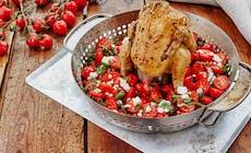 Grillattu Kana Tomaattisalsan Kera