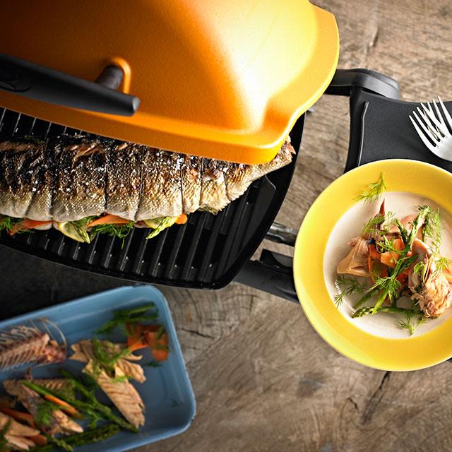 Weber Holzkohlegrill Forelle : Gegrillte forelle weber grill original