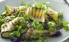 Grilled Courgette And Watercress Salad 692X636Px 346X318