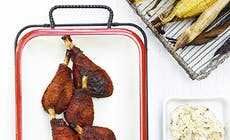 Kanankoivet Grillatun Maissin