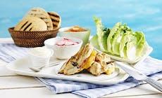 Kopi Af Caesar Salad Burger