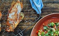 Kungsfisk Med Avokadosalsa