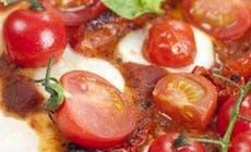 La Recette Du Chef Pizza Aux Tomates Fraiches Et Confites 750X750