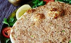 Lahmacun Pizza Turca Con Cordero