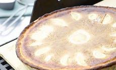 Mazarintaerte Med Grillede Paerer