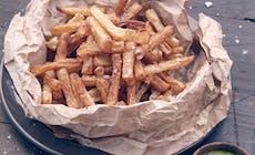 Pommes Frites Med Estragonmayo