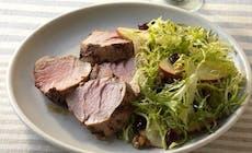 Pork Tendrloin With Frisee Salad