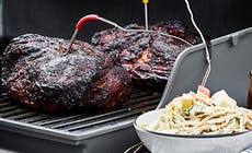 Pulled Pork Paa Gasolgrill