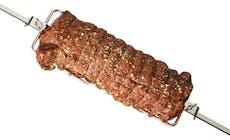 Roastbeef Paa Rotisseri