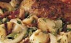 Salada De Batatas Novas Grelhadas