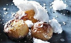 Saltbagte Babykartofler