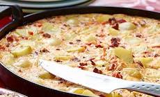 Spansk Potatisomelett