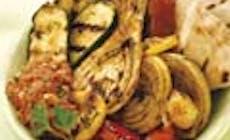 Verduras De Verano Con Salsa Romesco