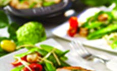 Wok De Verduras Con Especies Y Miel