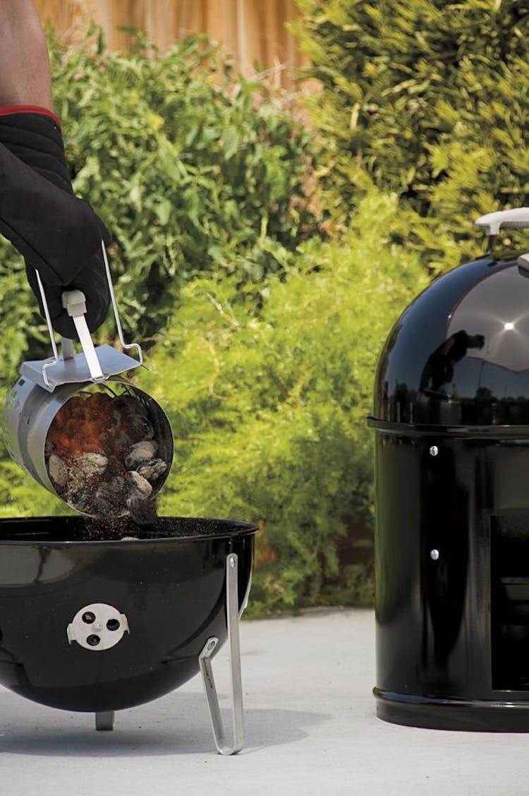 Smoking on a Water Smoker | Smoker Setup | Weber Grills