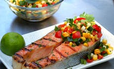Maple Salmon Steak300